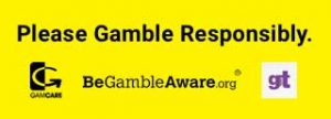 Be Gamble Aware when Gambling